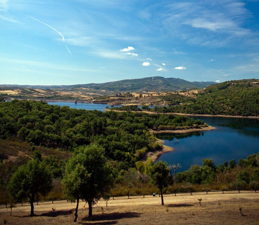A landscape of Trás-os-Montes region.