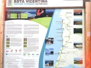 Fisherman's trail is a part of Rota Vincentina.