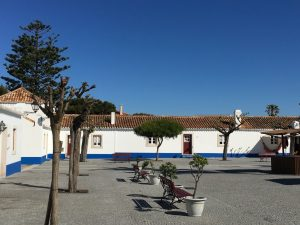 A charming Porto Covo town - our starting location the first year.