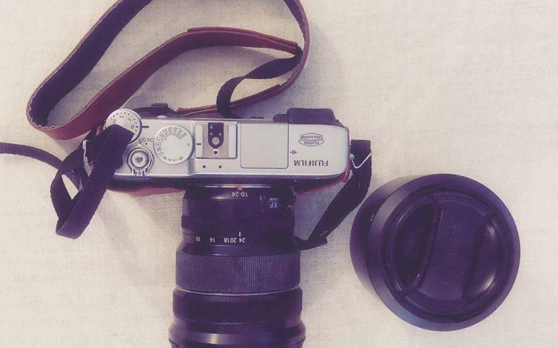 """""""Fujifilm X-E2"""" photo camera"""