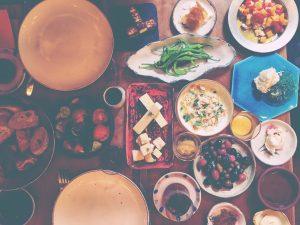 Our brunch in Turkey
