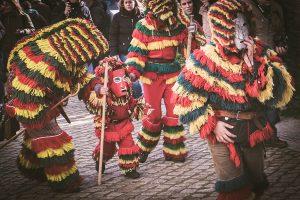 Carnival in Podence.