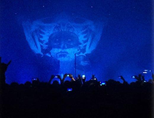 """Moonspell"" concert in Porto."