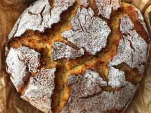 """Portuguese corn bread """"broa""""."""