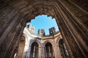 Batalha Monastery makes part of a Portuguese Monasteries Route.