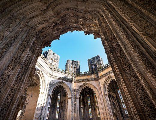 Batalha Monastery makes part of a Portuguese Monasteries Route.