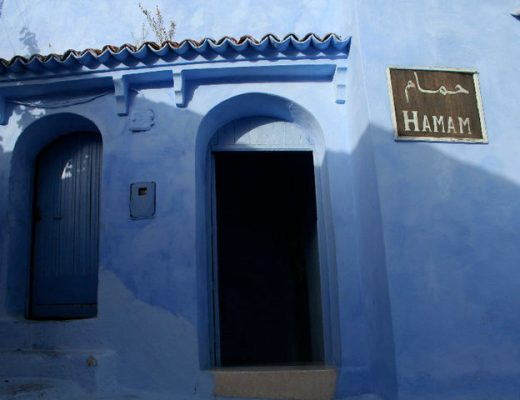 Hammam in Chefchaouen, Morocco.