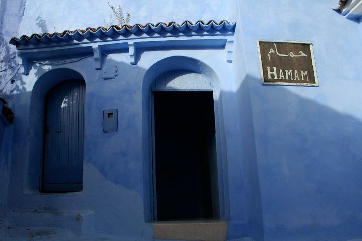 Hammam in Chefchaouen, Morocco.